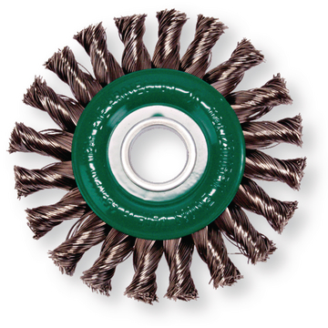 Plaited circular brush 125 mm